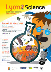 Affiche Lyon Science 2015
